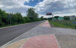 Więcej o: Przebudowana droga w Oleksowie oddana do użytku.