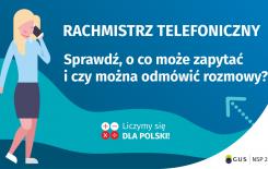 Więcej o: Rachmistrz telefoniczny – o co zapyta i czy można odmówić rozmowy?